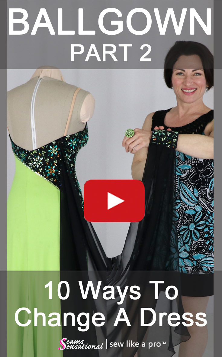 10 ways to change a ballgown to use for any style Ballroom, Country or Skate competition