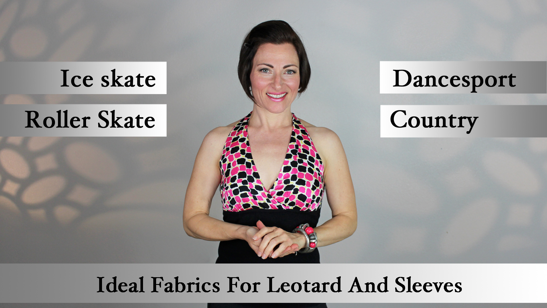 Ideal Fabrics for Leotards and Sleeves for competition Dancesport, Country and Skate Dresses.