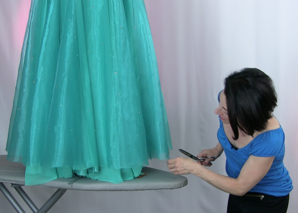 Teresa Sigmon, creator of the SEW LIKE A PRO™ training series, teaching YOU to make professional quality dance and skate costumes