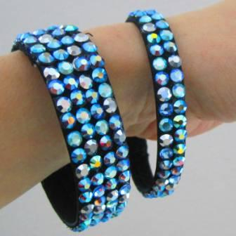 rhinestoned bracelets and accessories, www.seamssensational.com