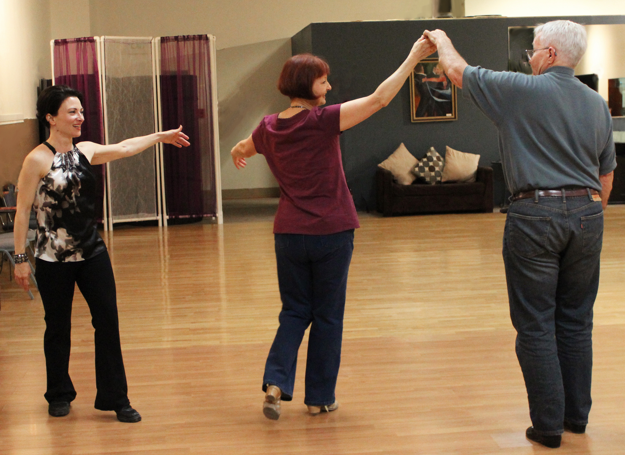 Teresa Sigmon, ballroom dance instructor with Carolyn Vivian, OR & WA licensed realtor