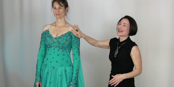 Weight loss alterations for dance costumes