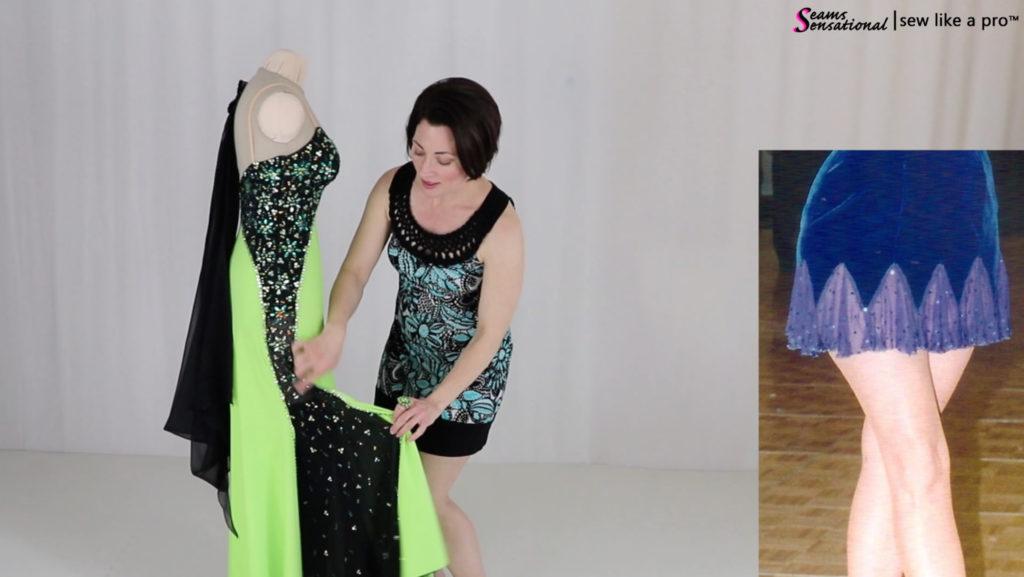 10 Ways To Change A Ballroom or Skate Dress - Sew Like A Pro™