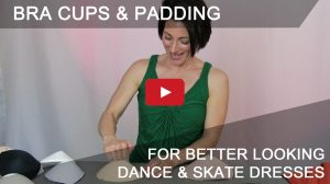 better bra cups & padding for Dancesport and skate dresses