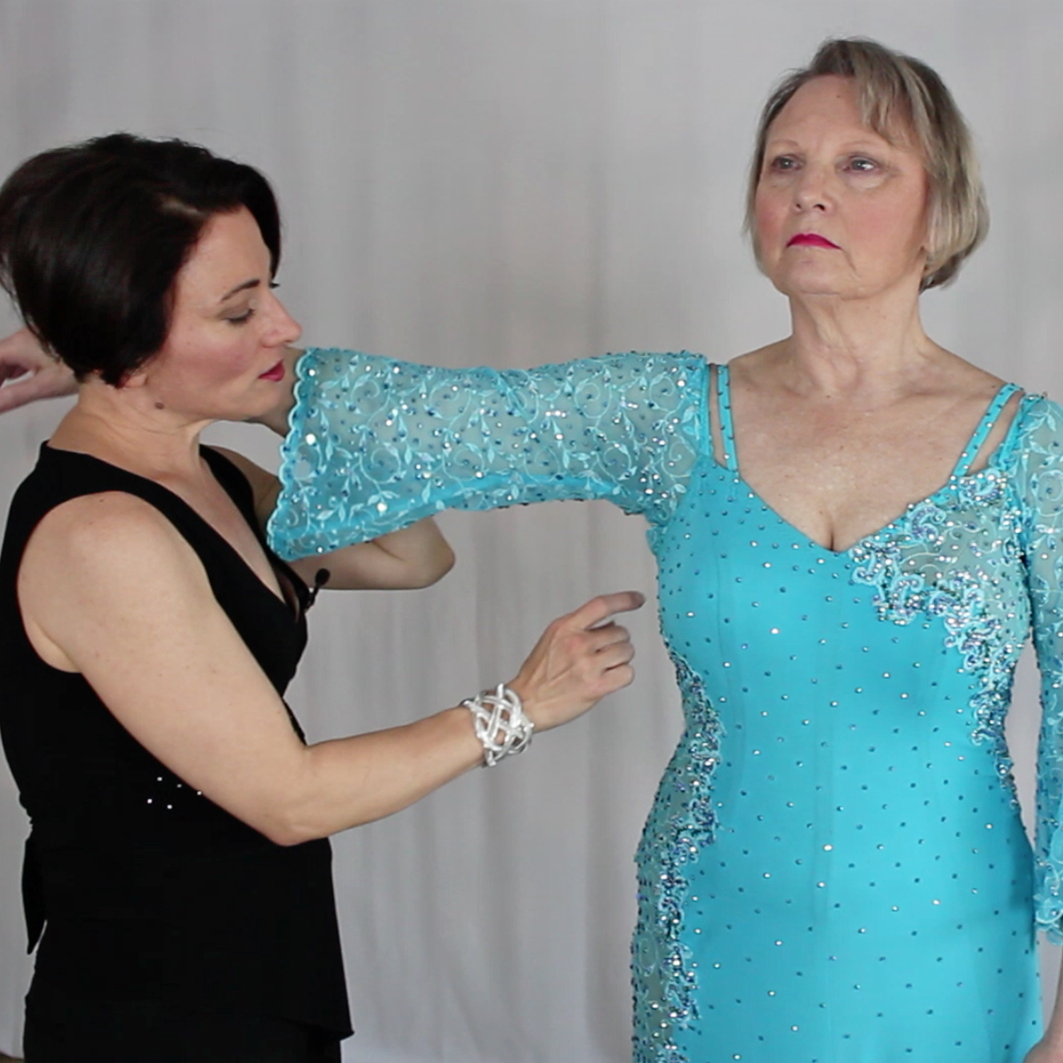 How to do a leotard fitting or dress fitting on competition Dancesport, Ballroom, Latin, Country or skate dress