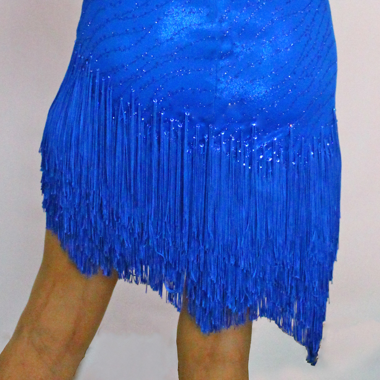 Fringe, fringe skirt for competition Dancesport, Ballroom, Latin, Country, skate dress