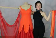 Teresa Sigmon, how to design the perfect drape for your ballgown