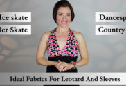 Top 10 Fabrics for competition Dancesport, Country and Skate Dresses.