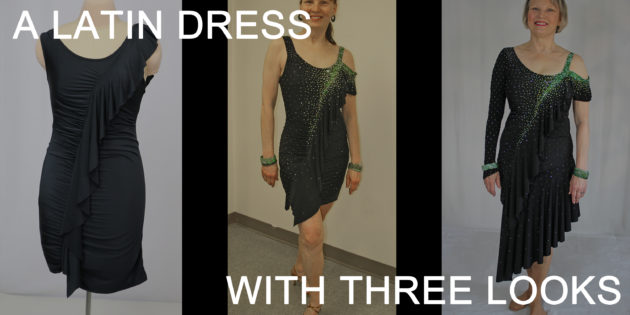Three looks out of one dress