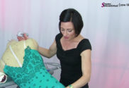 Pro Tips For Perfect Rhinestoning on competition Dancesport, Country and Skate Dresses